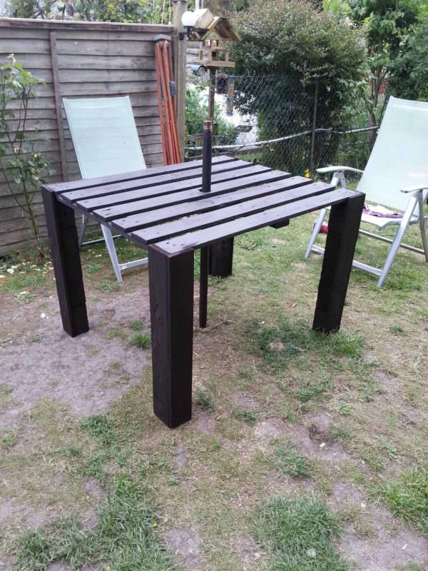 Garden Pallet Table Pallet Desks & Pallet Tables