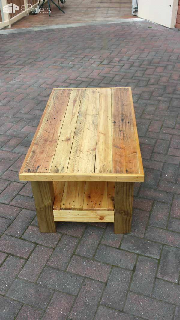 Just Another Pallet Table Pallet Desks & Pallet Tables