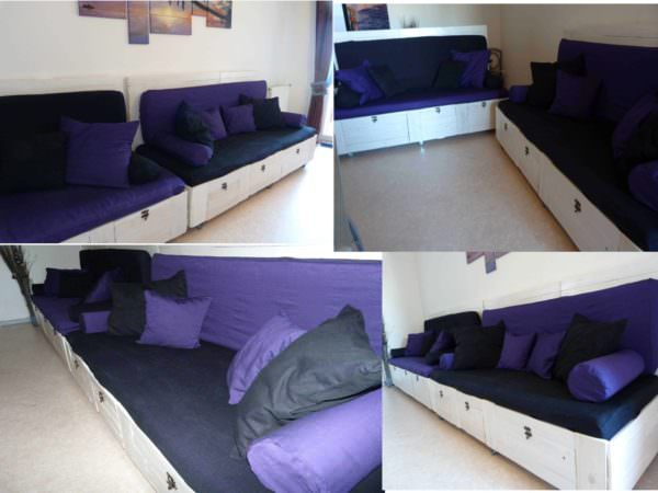 Our Pallet Sofa Pallet Sofas & Couches