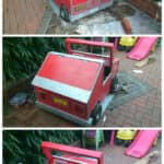 Pallet Child's Car & Storage Box