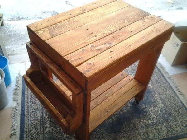 Pallet Kitchen Trolley 1001 Pallets
