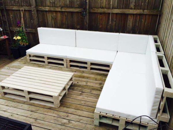 Pallet Outdoor Sofa Lounges & Garden SetsPallet Sofas & Couches