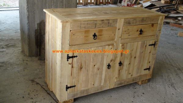 Pallet Sideboard by Alex Pallet Cabinets & Pallet Wardrobes
