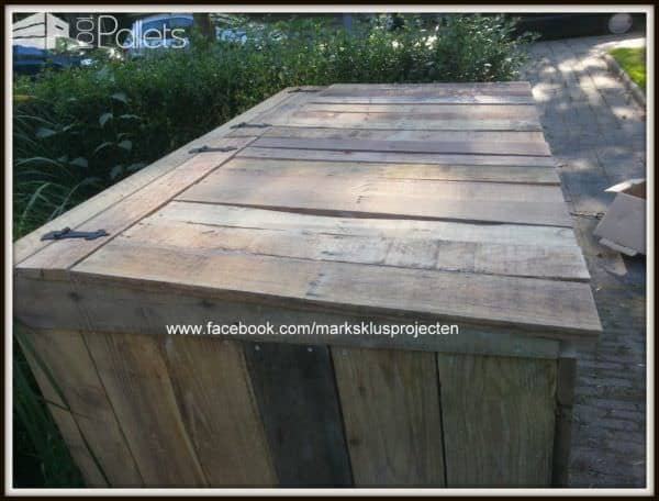 Pallet Wheelie Bin Cover 1001 Pallets