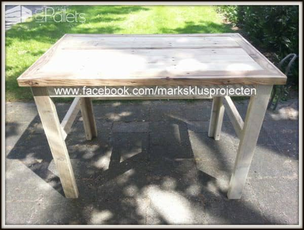 Small Pallets Desk Pallet Desks & Pallet Tables