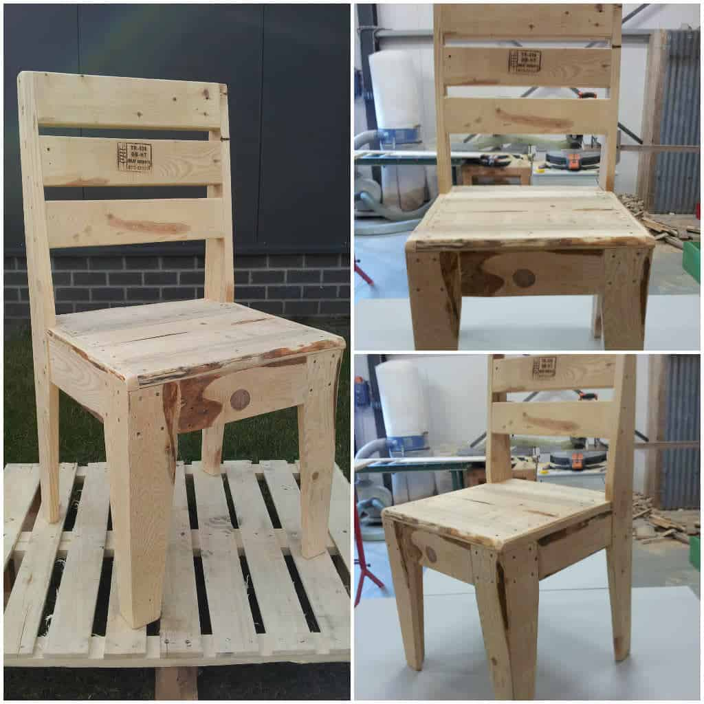 Upcycled Pallet Chair 1001 Pallets
