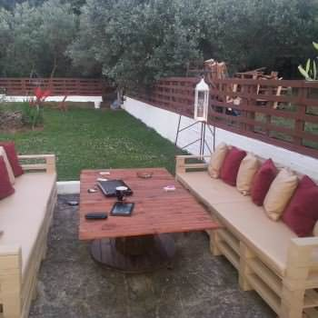 Outdoor Pallets Lounge