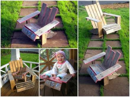 Mini Pallet Adirondack Chair (DIY Guide)