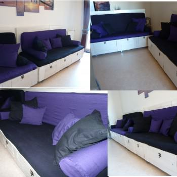 Our Pallet Sofa