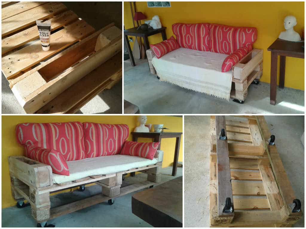 canap de jardin en palettes pallets garden sofa 1001 pallets. Black Bedroom Furniture Sets. Home Design Ideas
