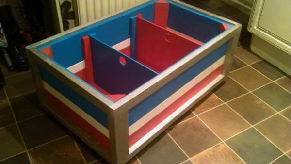 Children's Toy Chest Made From Pallets Fun Pallet Crafts for Kids Pallet Boxes & Chests