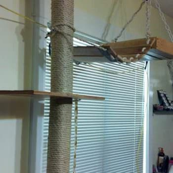 Diy: Pallet Cat Tree