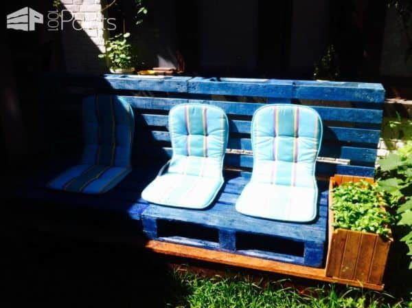 Garden Pallet Love Seats Lounges & Garden Sets