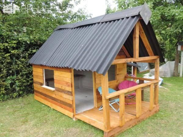 Maison De Jardin Pour Enfant / Pallets Kids House Fun Pallet Crafts for Kids Pallet Sheds, Pallet Cabins, Pallet Huts & Pallet Playhouses