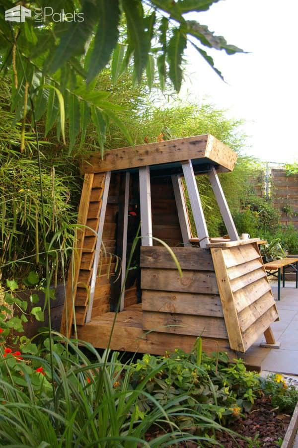 Mk House: Kids Playhouse from Recycled Pallets Fun Pallet Crafts for Kids Pallet Sheds, Cabins, Huts & Playhouses
