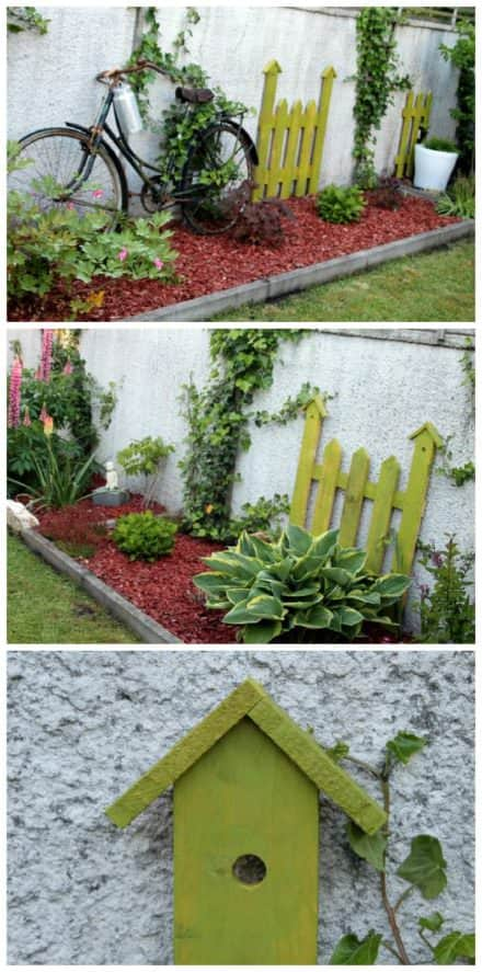 Latest recycled reclaimed pallet projects ideas 1001 - Deco jardin palette ...