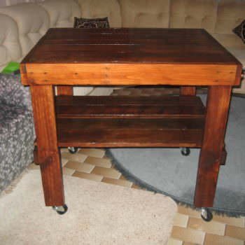 Pallet Butcher's Table
