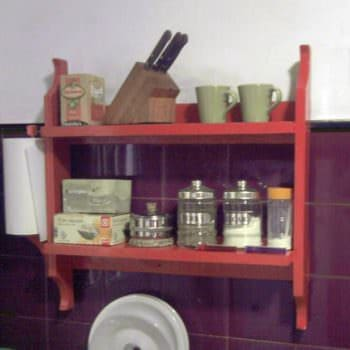 Pallet Kitchen Shelves for Storage