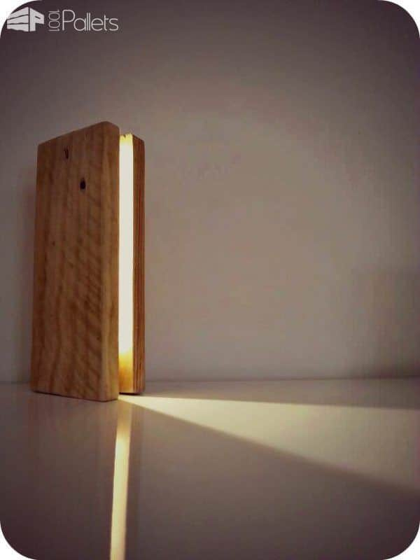 Pallet Lamp by Miu Design Pallet Lamps, Pallet Lights & Pallet Lighting