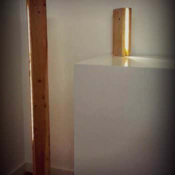 Pallet Lamp by Miu Design