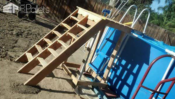 Pallet Pool Deck Amp Pool Supplies Caddy 1001 Pallets