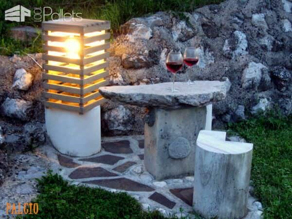 Pallet Romantic Light Pallet Lamps, Pallet Lights & Pallet Lighting