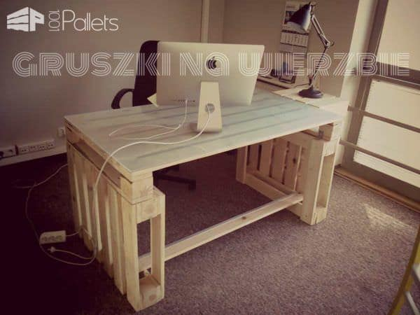 Pallets Office Pallet Desks & Pallet Tables