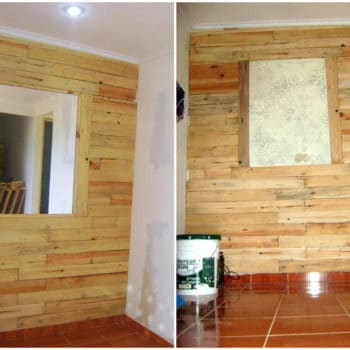 Pallets Wall Decoration