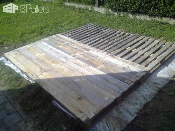 Terrace Deck Made Out Of Repurposed Pallets 1001