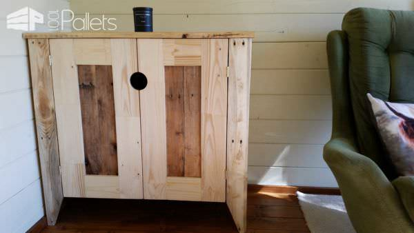 Upcycled Timber / Pallet Into Cabinet Pallet Cabinets & Pallet Wardrobes