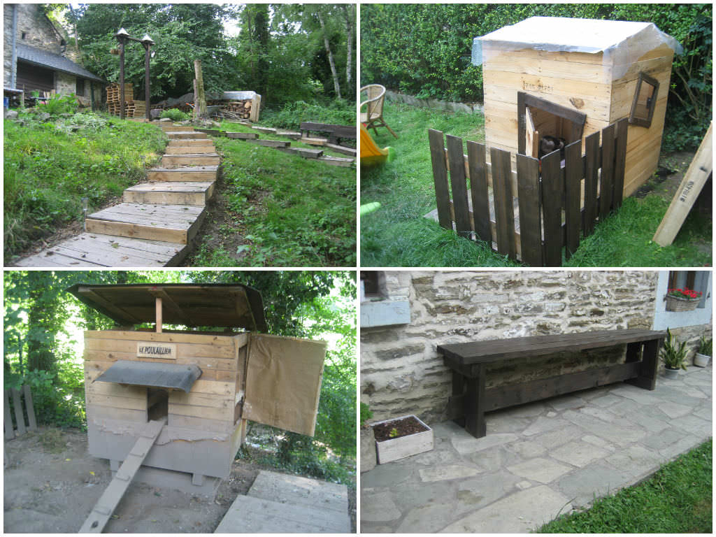 Recyclage de palettes recycled pallet projects 1001 pallets