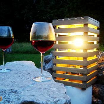 Pallet Romantic Light