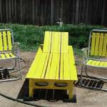 Pallet Chaise Lounger