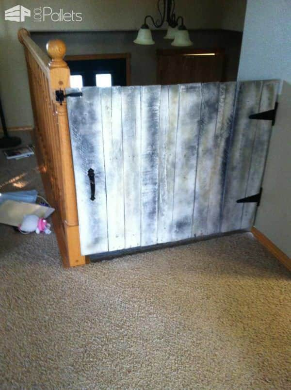 Baby Gate Made From Repurposed Pallets 1001 Pallets