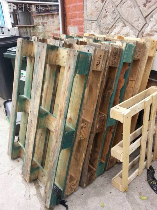Bar De Jardin / Pallets Garden Bar Pallet Bars