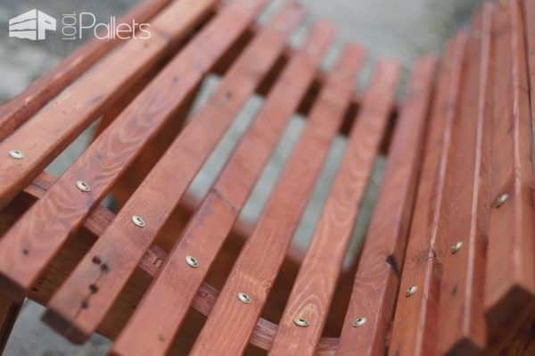 Ergonomic Pallet Seat: Kesselbench Pallet Benches, Pallet Chairs & Stools