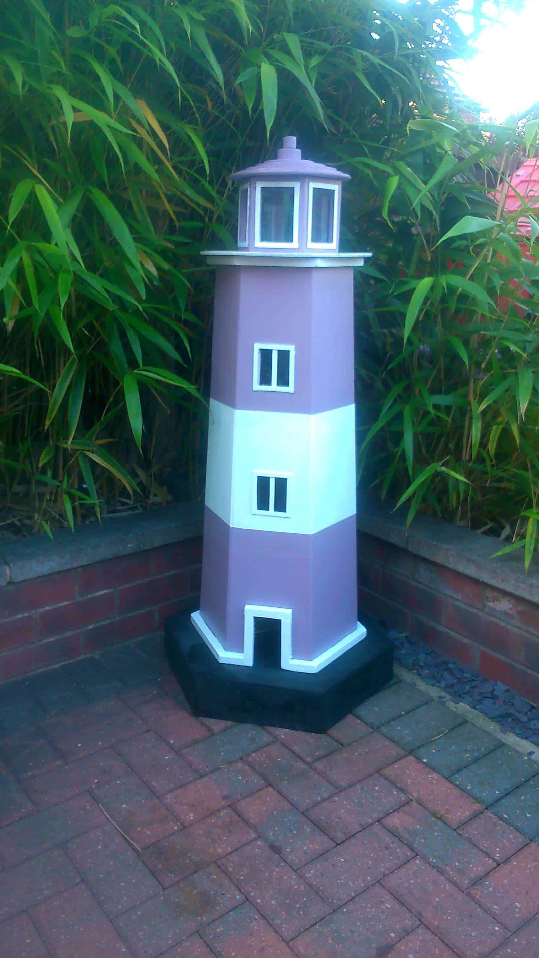 Garden Pallet Lighthouse Pallet Ideas 1001 Pallets