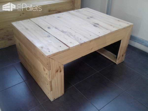 My First Project with Recycled Pallets: Bench, Chairs & Coffee Table Pallet Benches, Pallet Chairs & StoolsPallet Coffee Tables