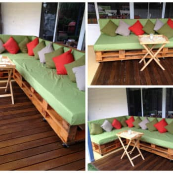 Pallet Couch / Daybed
