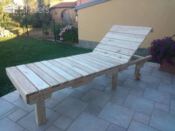Pallet Sun Lounge Chair Lounges & Garden Sets