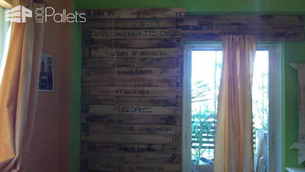 Bedroom Pallet Wall Pallet Walls & Pallet Doors