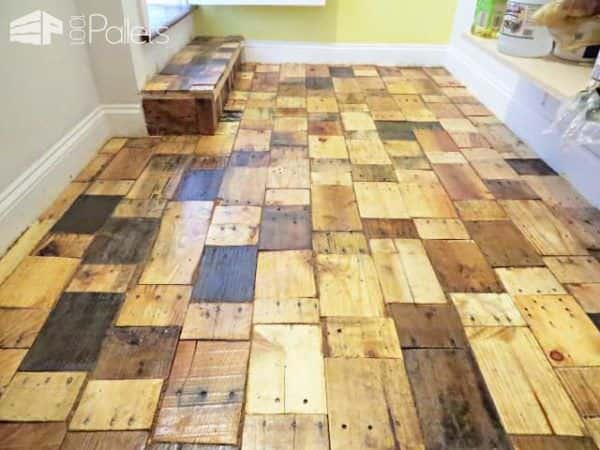 Pallet Wood Floor Redo Pallet Floors & Decks