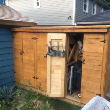 Pallet Wood Tool Shed