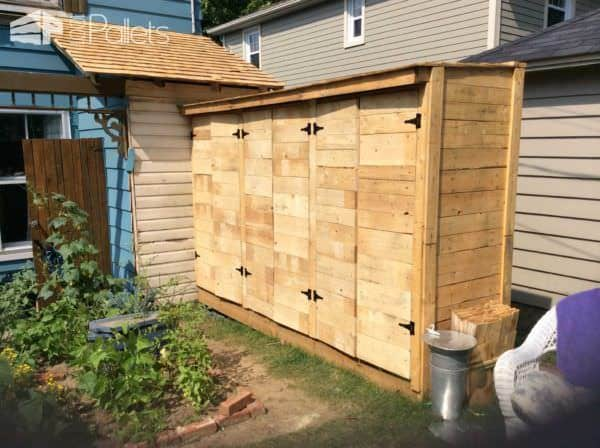 Pallet Wood Tool Shed 1001 Pallets