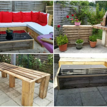Pallets For Outdoor Projects: Lounge & Table