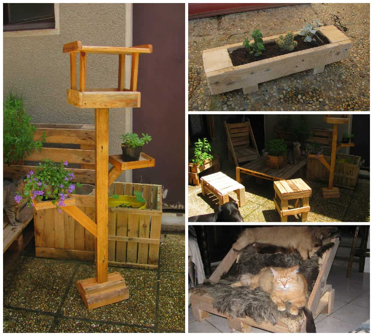 Pallets Stuff For Your Garden • 1001 Pallets