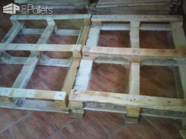 Rustic Pallet Bed 1001 Pallets