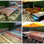 Tables De Jardin / Pallets Garden Table