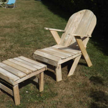 Chaise Longue / Garden Pallet Lounger