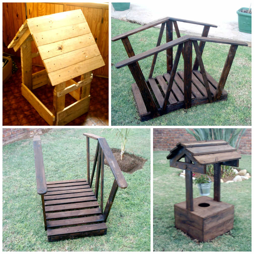 Garden decorations made from pallet wood 1001 pallets